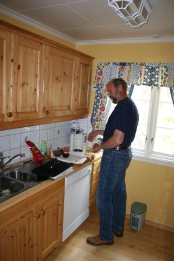 Küchenbereich Haus Aarnes