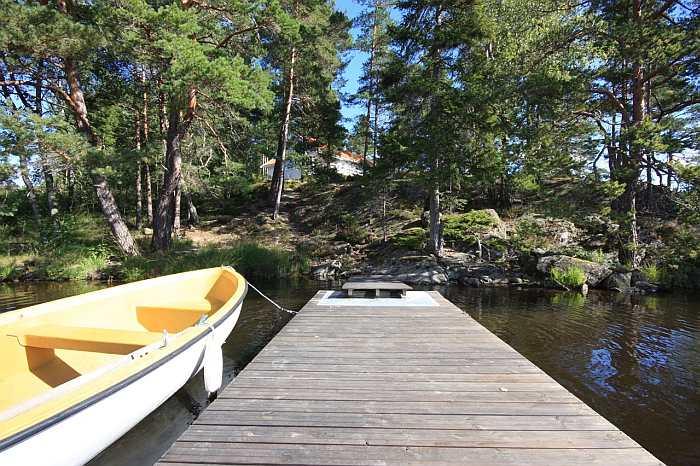 Es sind nur wenige Schritte vom Haus bis zu Ihrem Boot