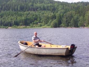Angelboot 15 Fuß, 6 PS - 4-Takter - bereits im Hauspreis enthalten