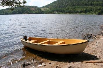 Zusatzboot mit 5 PS