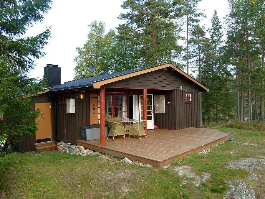 Ferienhaus Anneberg liegt ungestört auf einem wunderschönen Naturgrundstück