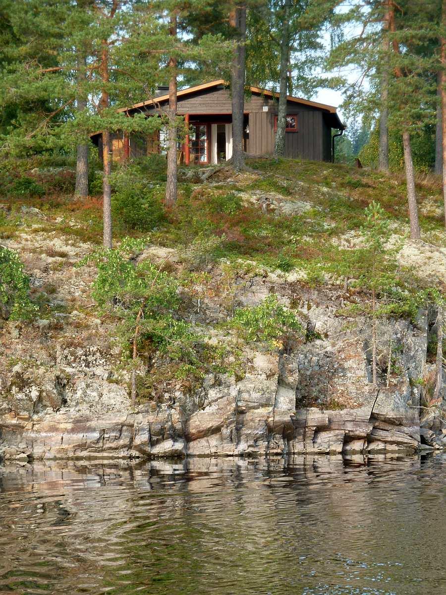 Die Uferlage des Hauses - nur ca. 25 Meter bis zum Wasser