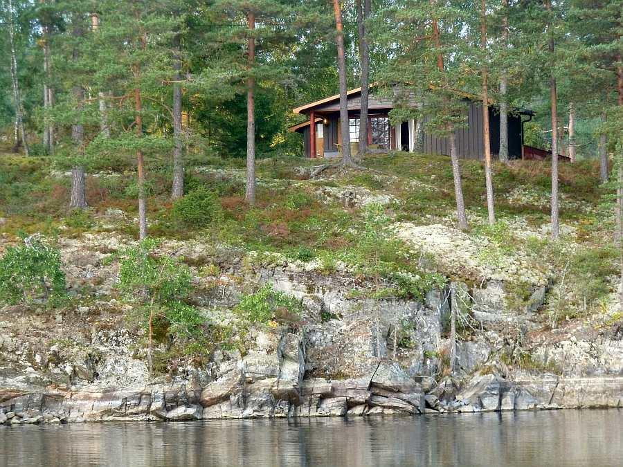 Ferienhaus Anneberg - direkt Lage am See Stora Le