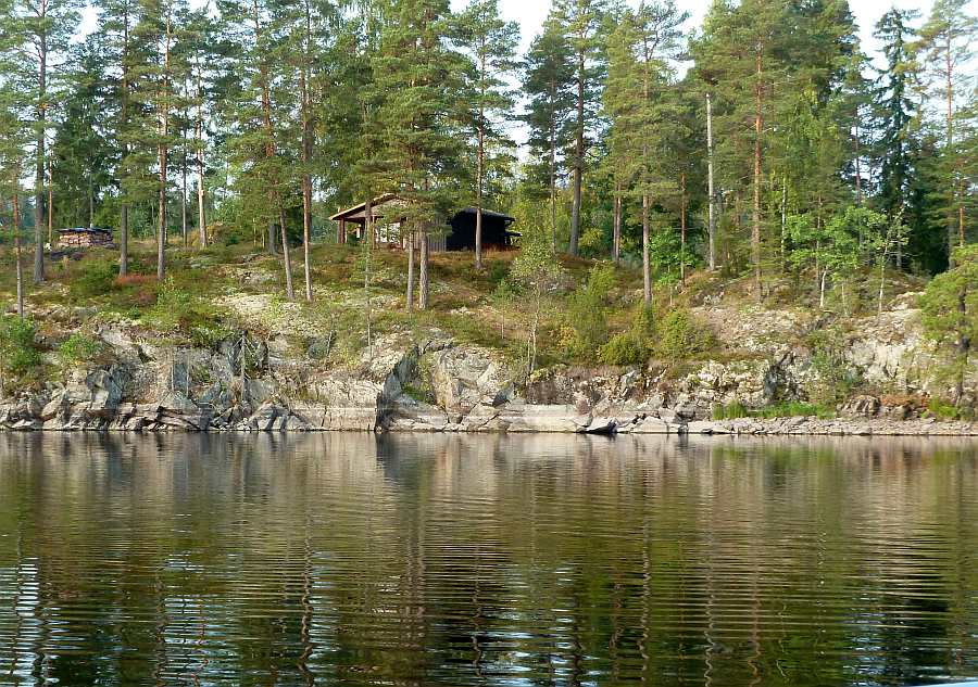 Ferienhaus Anneberg - perfekte, ungestörte Lage am Seeufer
