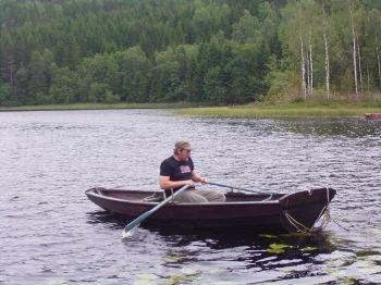 An kleineren Seen oft die beste Wahl - rudern...