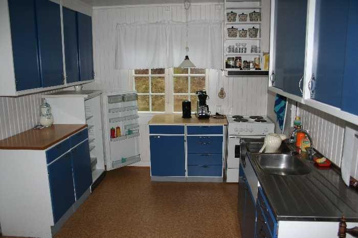 Die Küche des Feriehauses ist komplett ausgestattet