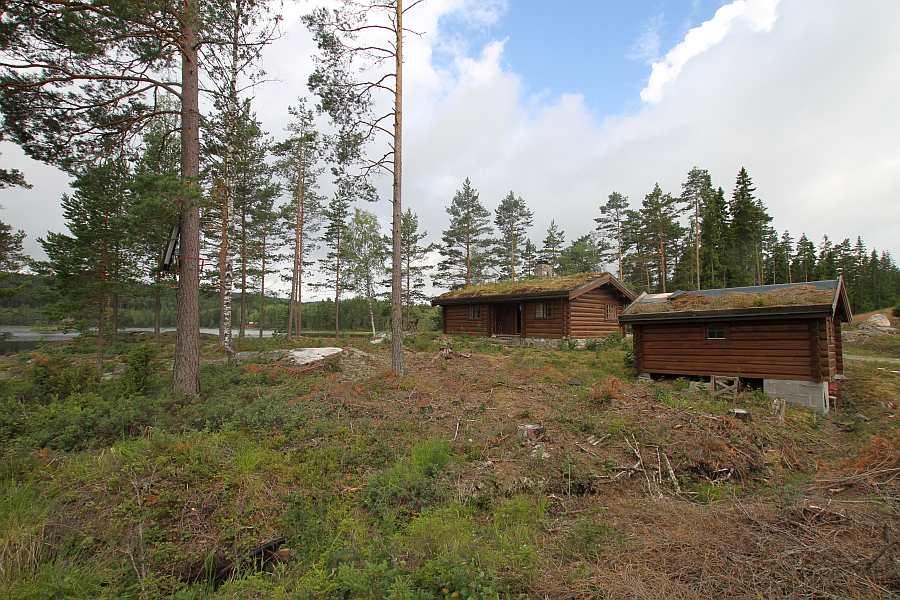 Absolut ungestörte Lage - Ferienhaus Bråtasetra