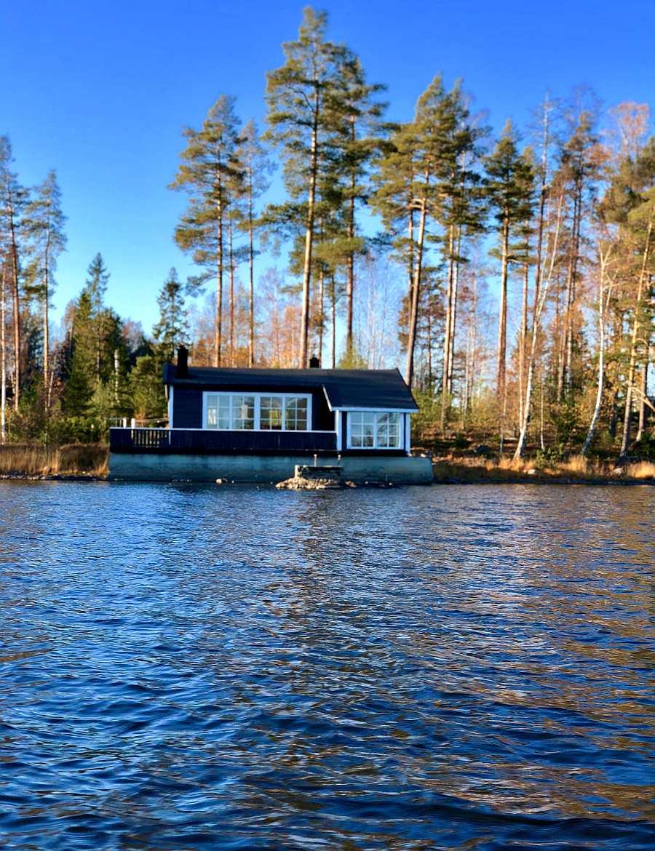 Ferienhaus Brøken ist genau das Richtige für angelnde Freunde, oder die kleine naturliebende Familie.