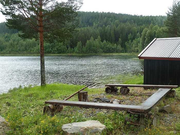 Am See Butjenn - Bootshaus und Grill- und Feuerstelle