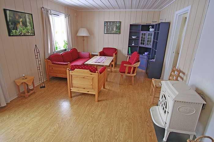 Wohnbereich des Ferienhauses