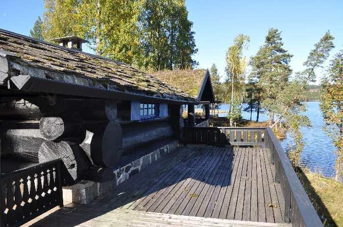 Ferienhaus Digernes in Alleinlage direkt am See Digern