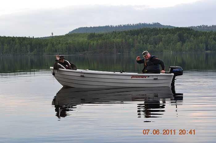 Bereits im Preis enthalten: Angelboot Pioneer 13 Fuß/5 PS, 4-Takter, exkl. Treibstoff