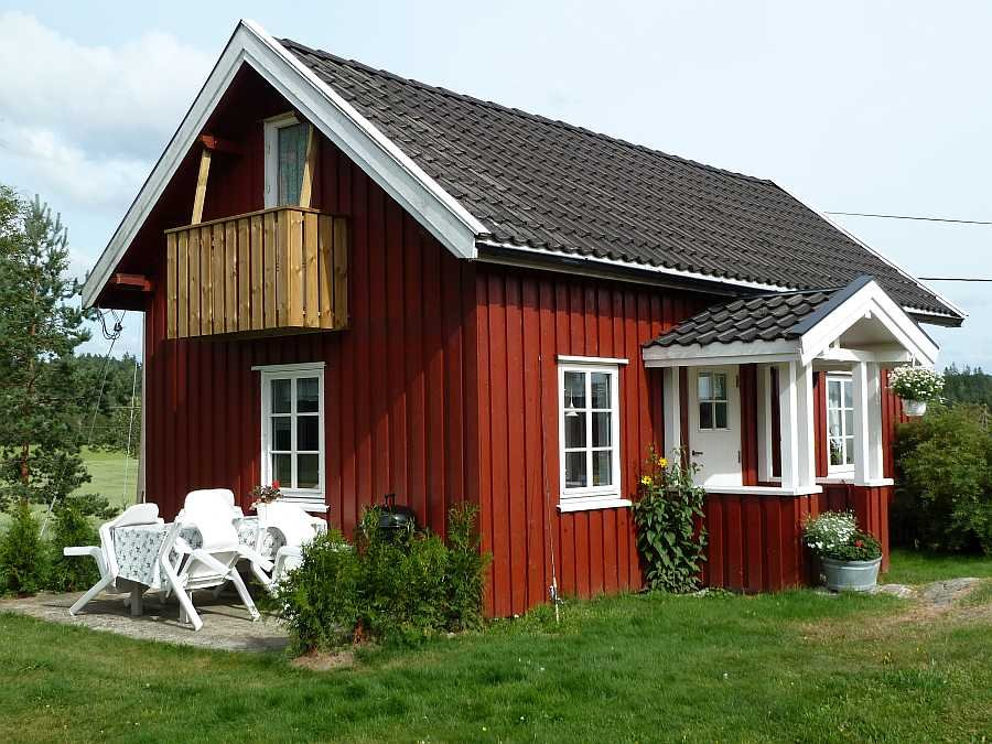Angeln in norwegen ferienhaus lerbukta g nstig buchen nbler for Norwegen haus