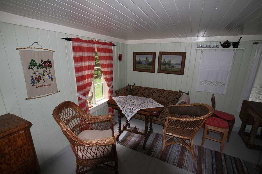 Gemütlicher Wohnbereich im Ferienhaus