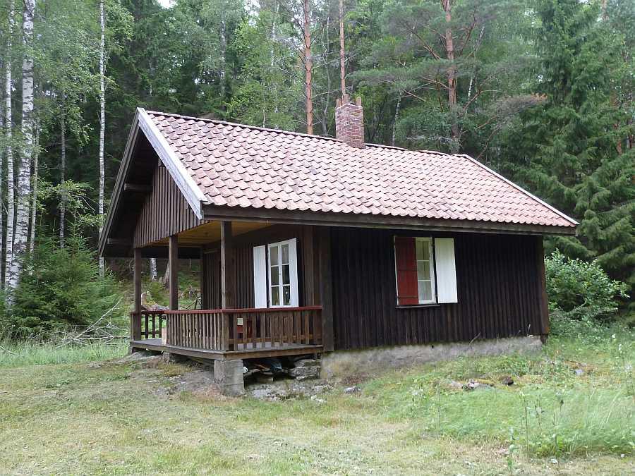 Das Ferienhaus bietet Platz für bis zu 3 Personen