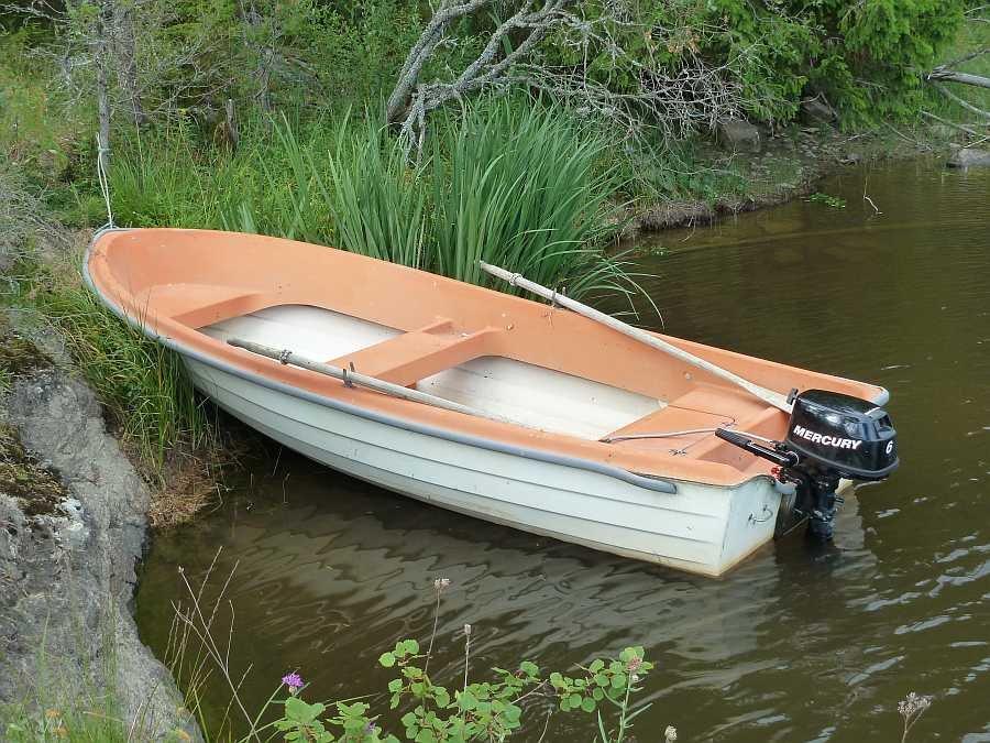 Bereits im Hauspreis enthalten - Angelboot 15 Fuß/6 PS - Viertakter