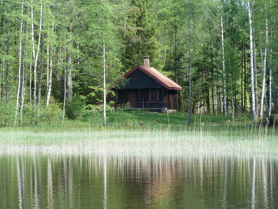 Ferienhaus Klokkerhytta - direkte Lage am Seeufer
