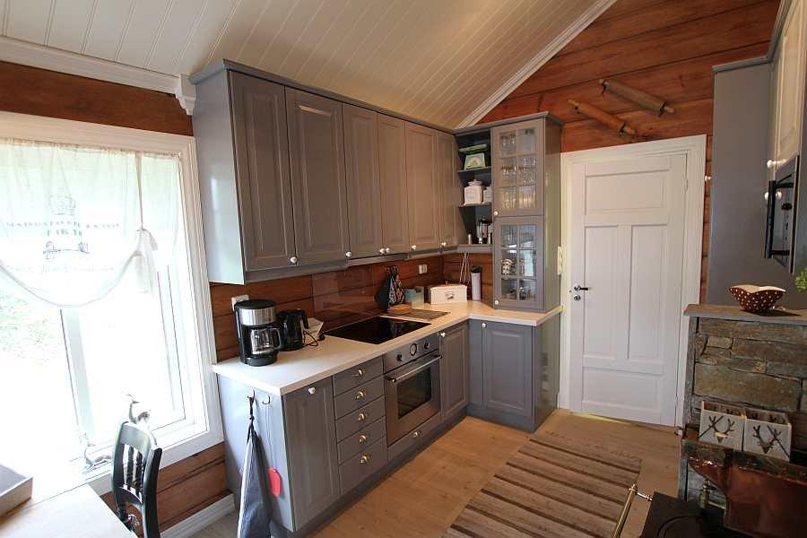 Blick in die Küche des Hauses
