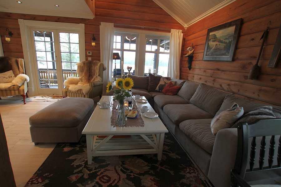 Die gemütliche Sitzecke des Hauses