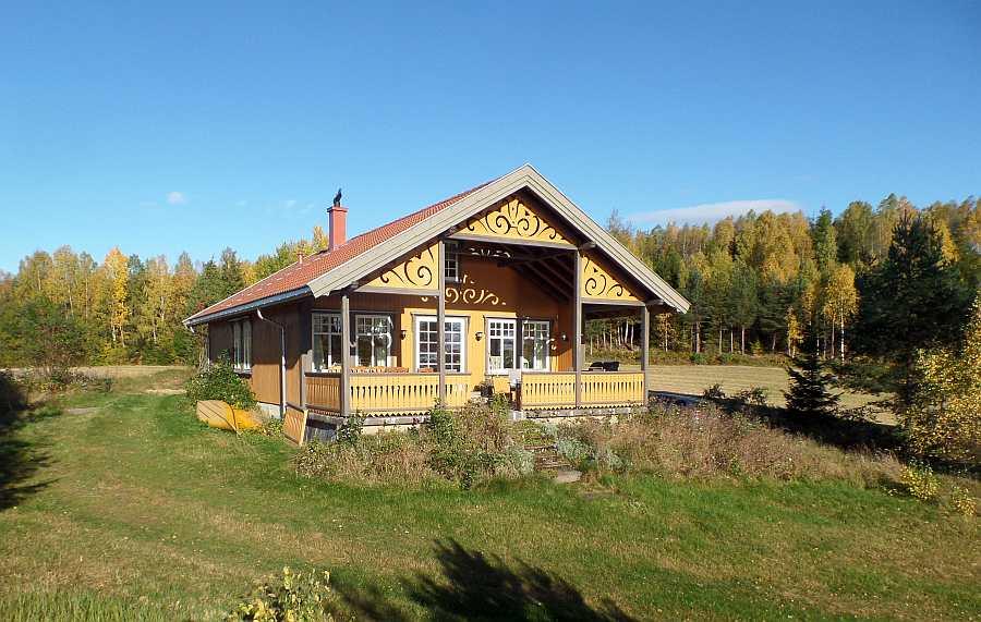 Das Ferienhaus Langenes bietet  auf 118 qm ausreichend Platz für bis zu 6 Personen