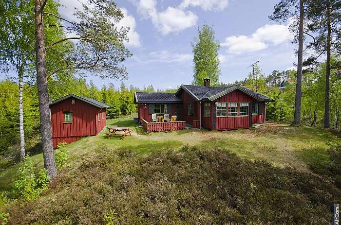Ferienhaus Lerbukta auf dem eigenen Naturgrundstück