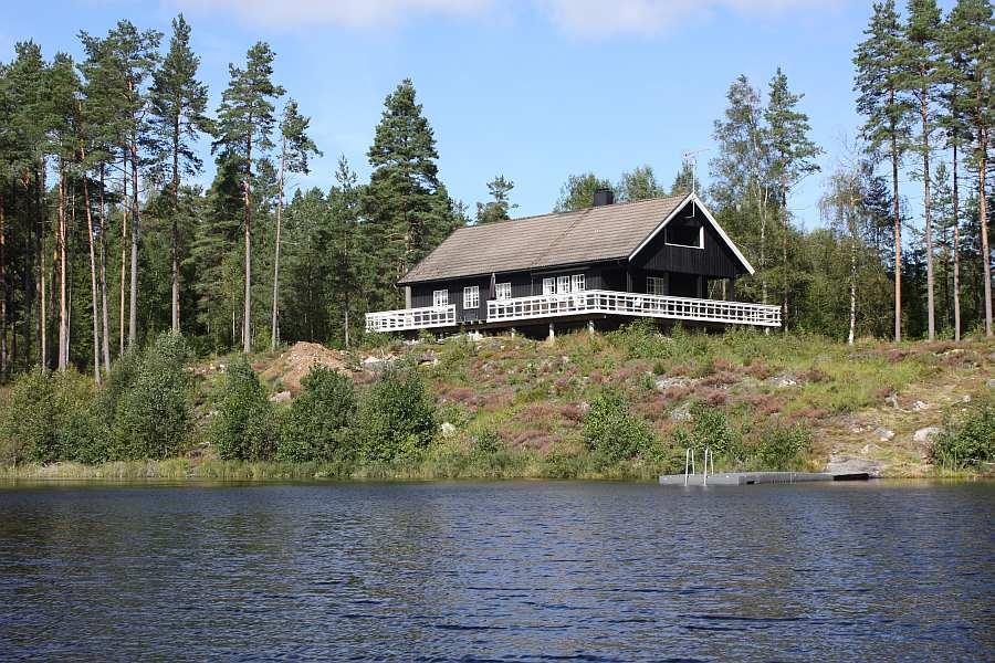 Ferienhaus Lilleby - direkte Wasserlage