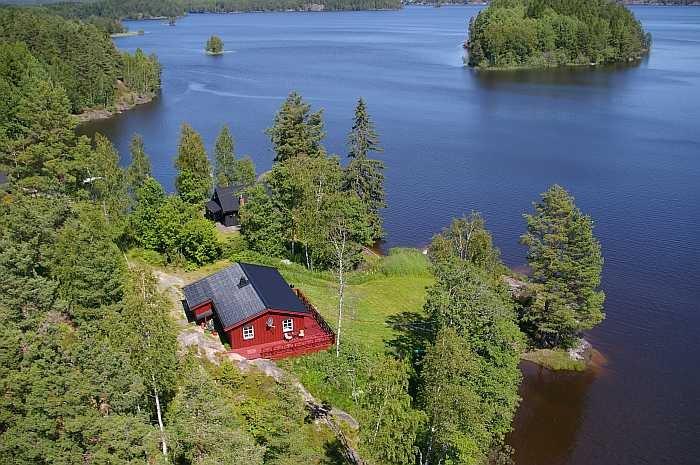 Schöner kann ein Ferienhaus kaum liegen!