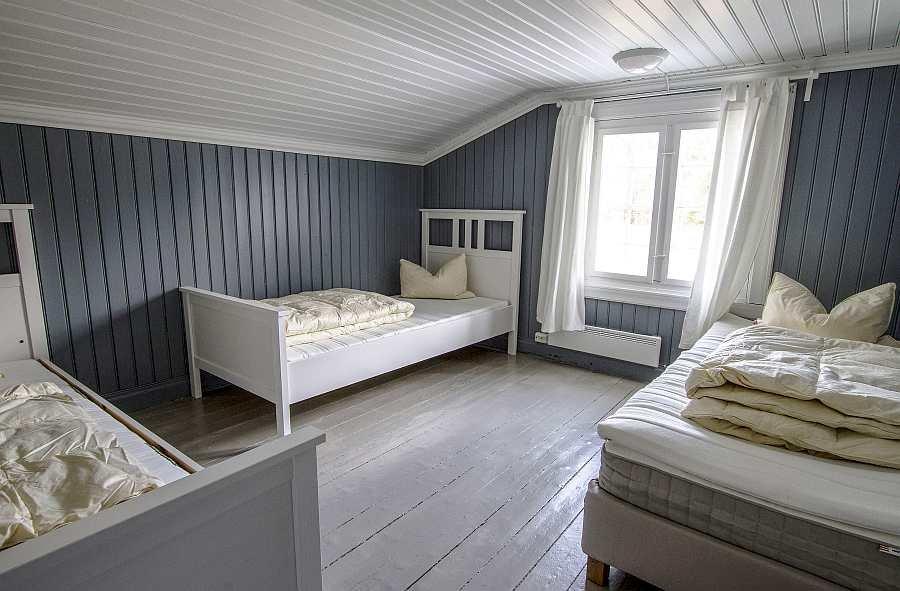 Das zweite der beiden Schlafzimmer