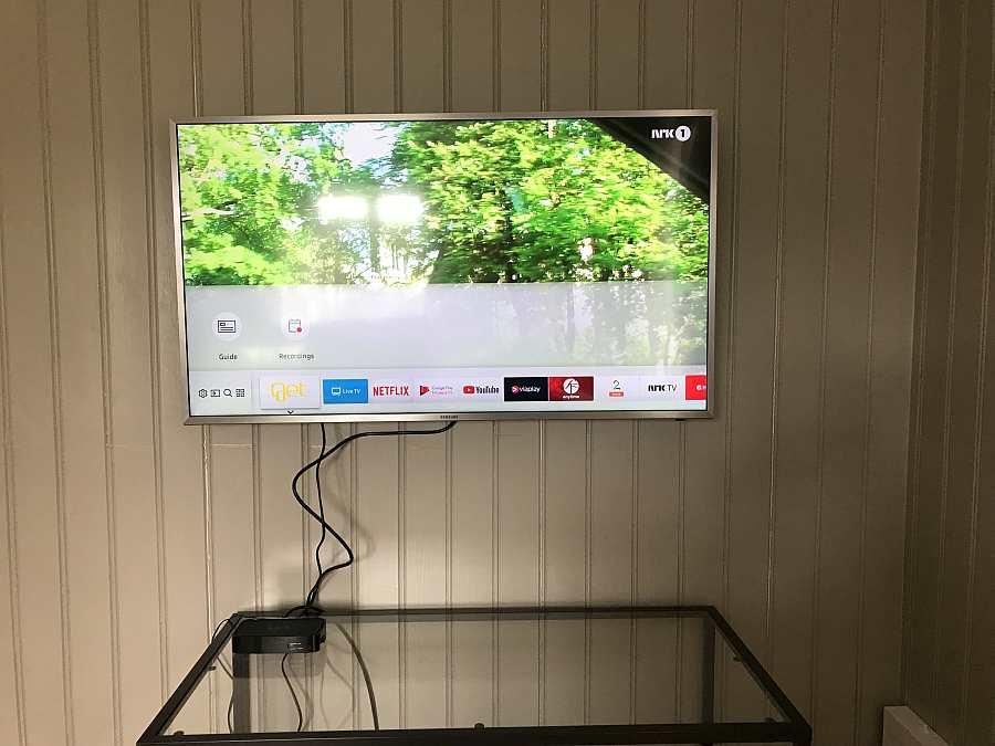 Das Internet-Smart-TV-System bietet deutsche und internationale Programme und Internetzugriff