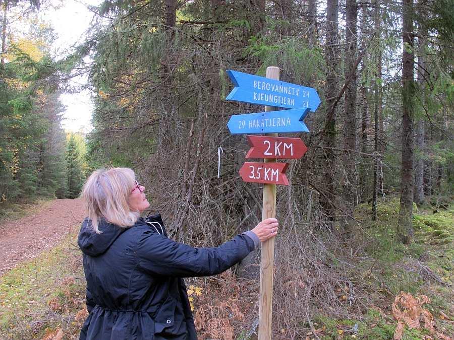 Im Umfeld des Ferienhauses bieten sich etliche gekennzeichnete Wander-Rundwege an