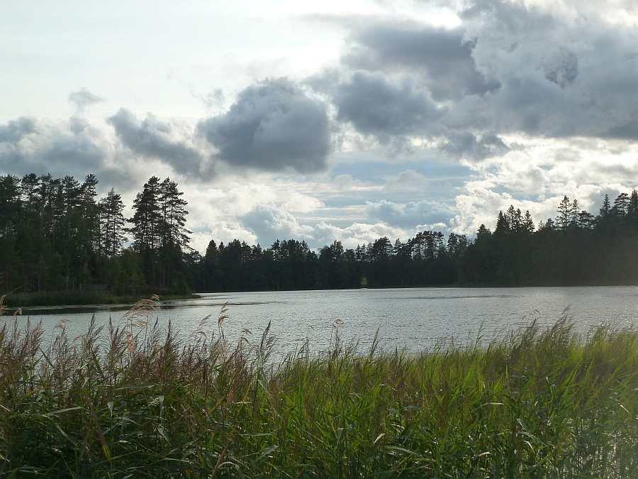 Der See Moentjern -  klein aber fein - hier der nördliche Teil