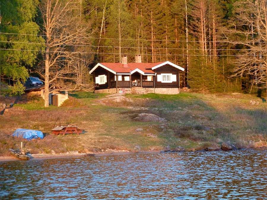 Ferienhaus Ringsby - direkte Lage am See Rømsjøen