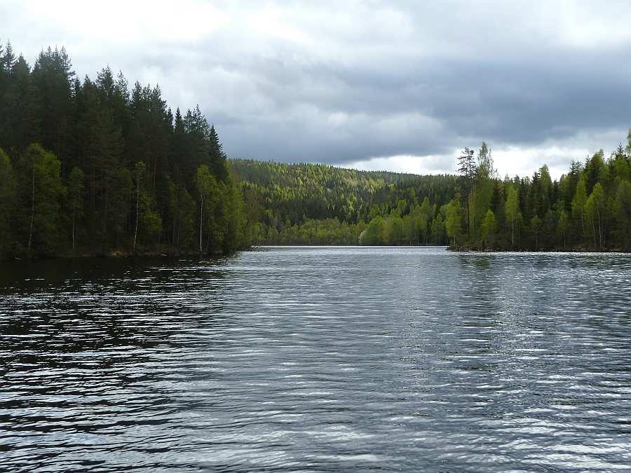 Das südliche Ende des Sees Rømsjøen