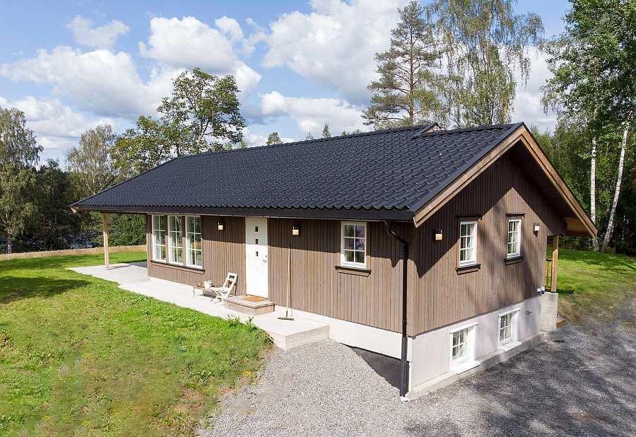Auf 160 qm bietet das 2018 neu erbaute Ferienhaus viel Platz für max. 6 Personen
