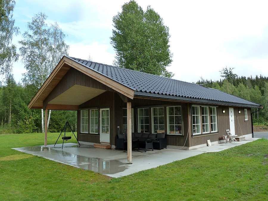Ferienhaus Rødkinn bietet eine sehr gute Ausstattung und hohen Komfort