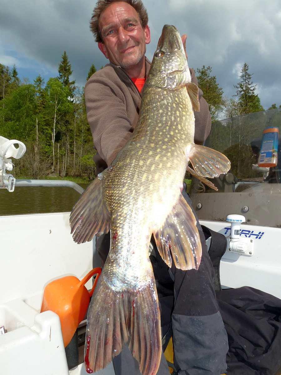 Testangler Thordes... der Stora Le ist eines seiner Lieblingsgewässer
