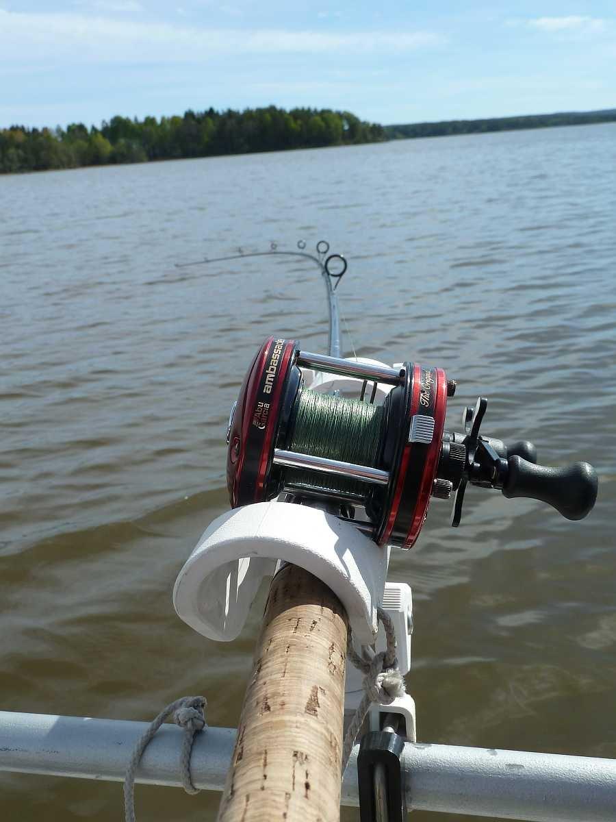 Der See ist perfekt auch zum Schleppen geeignet