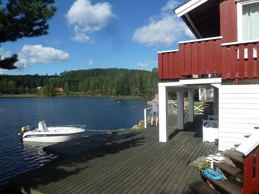 So wird  Ihr Angelboot direkt vor dem Haus liegen