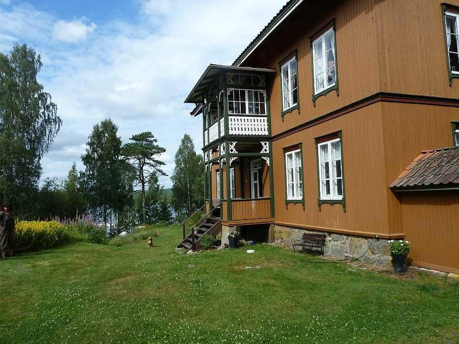 Ferienhaus Sooterud - zum See Stora Lee sind es nur ca. 70 Meter