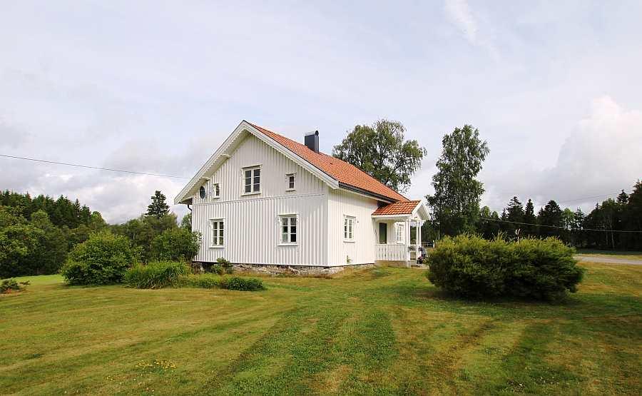 Ferienhaus Sørstua am See Kornsjøen des Seengebietes Haldenvassdraget