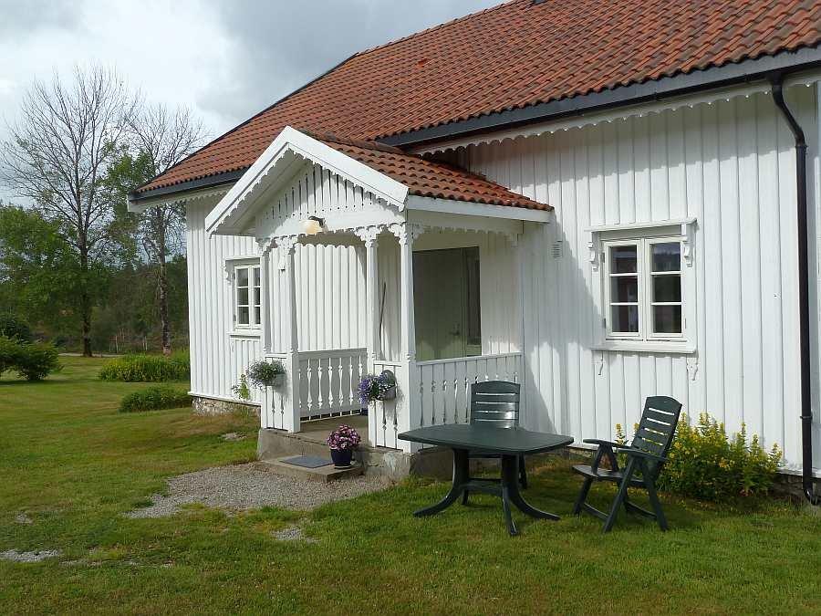 Der Eingangsbereich von Ferienhaus Sørstua