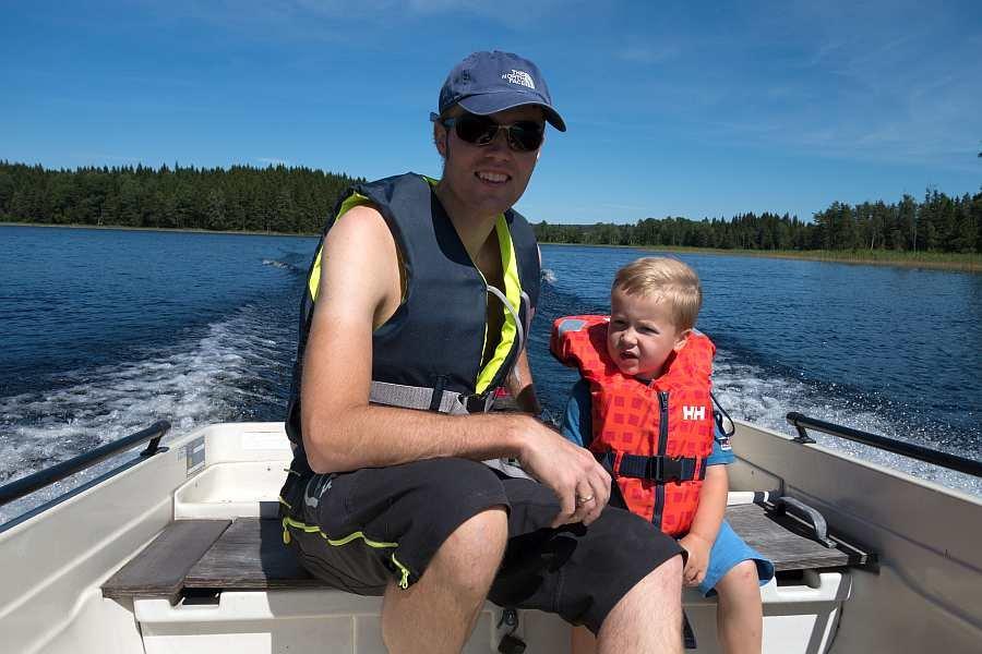 Auch die Kleinen werden es auf dem See sicher mögen