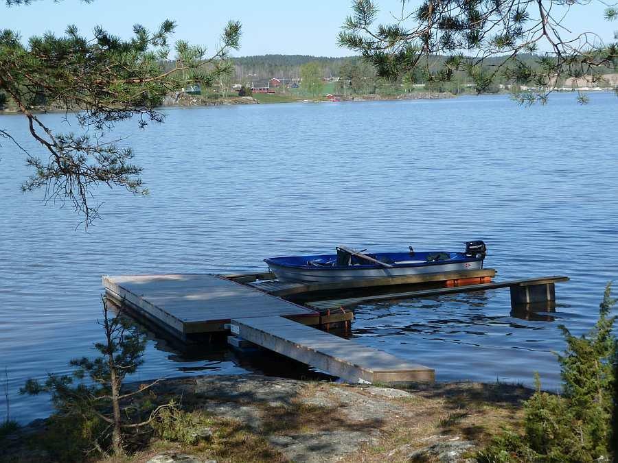 Ihr Boot liegt direkt vor Ihrem Ferienhaus