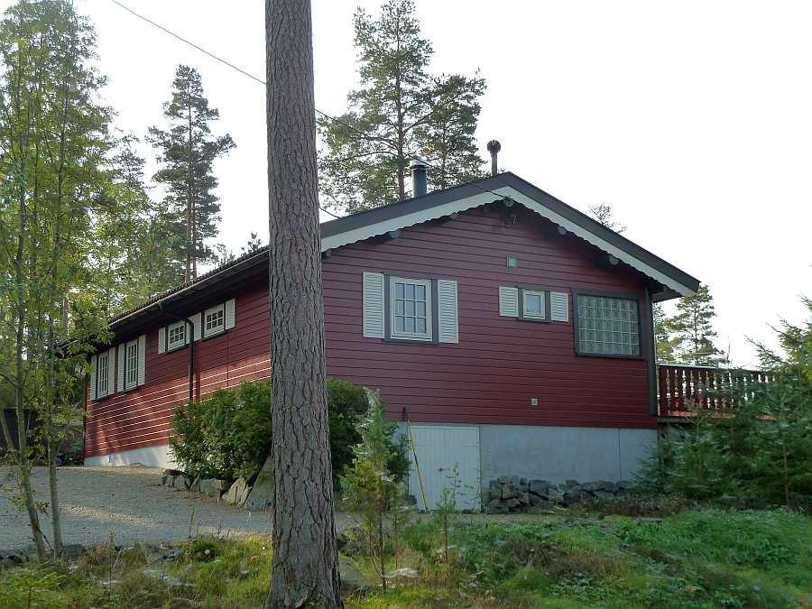 Ferienhaus Stine liegt auf einem eigenen Naturgrundstück