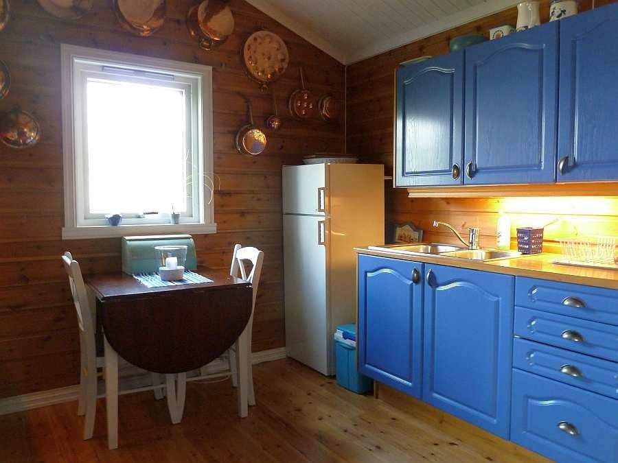 Küche im Ferienhaus Stine