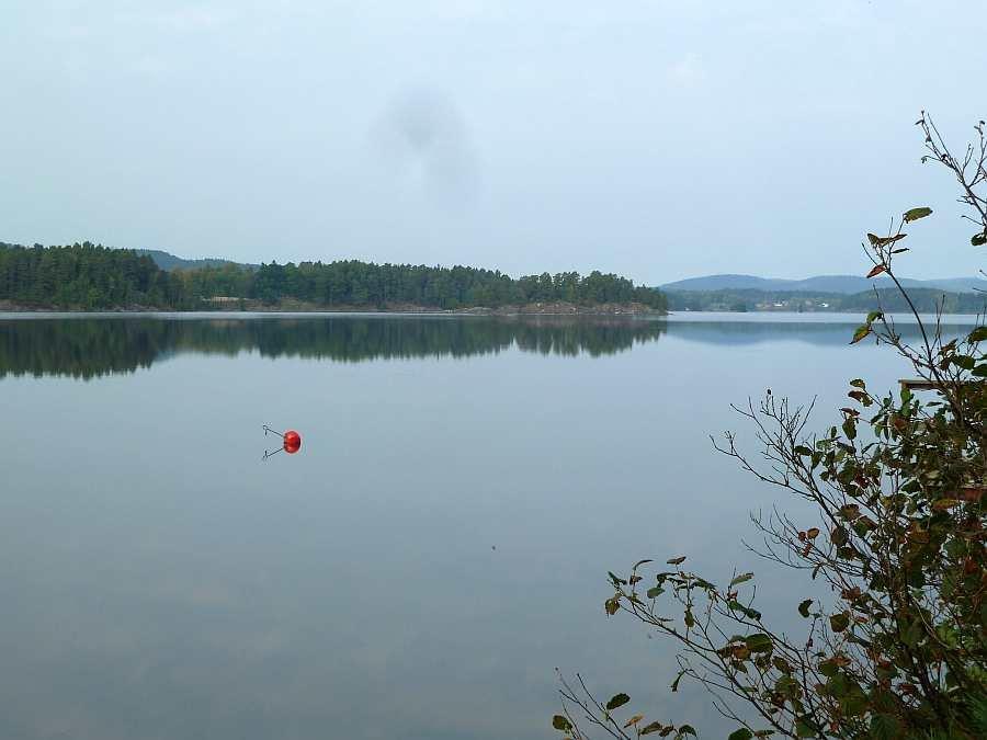 Herbstliche Stimmung am See