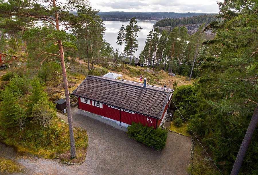 Ferienhaus Stine am See Aramarksjøen am Haldenvassdraget