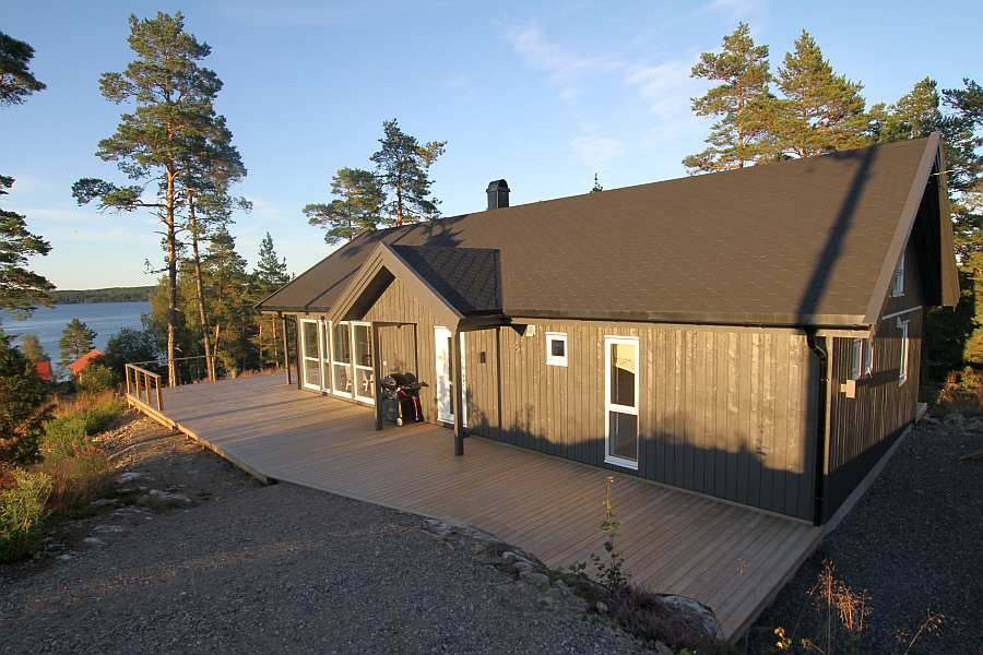 Ferienhaus Tolsby am See Stora Le - viel Platz für bis zu 10 Personen
