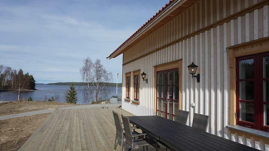 Ferienhaus Tolsand - direkte Wasserlage. Der Neubau ist nahezu abgeschlossen (Stand April 2017)