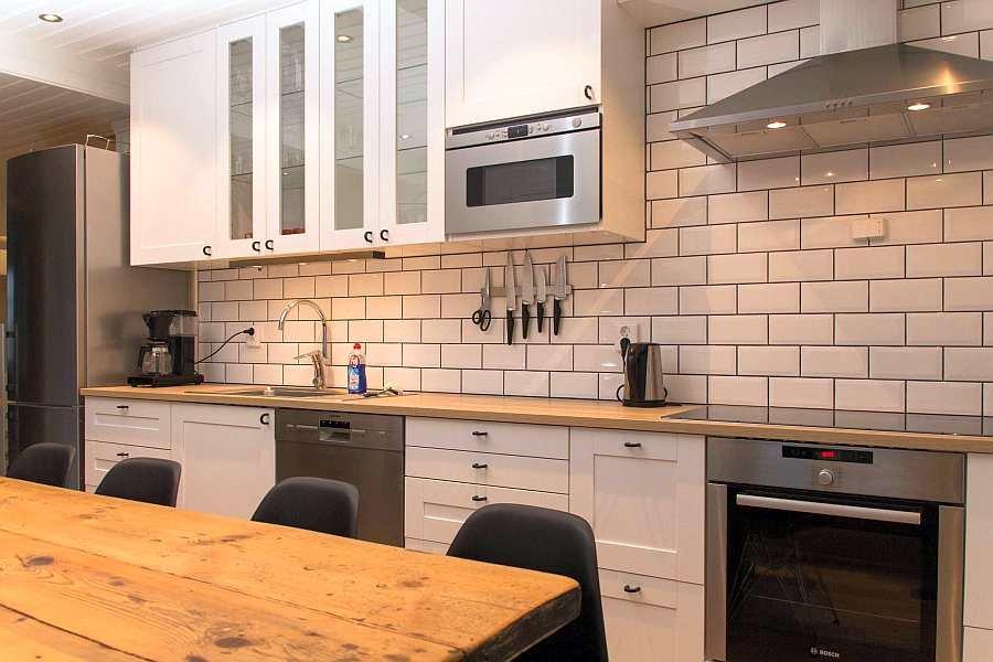 Die Küche ist komplett ausgestattet. Hier fehlt es an gar nichts!